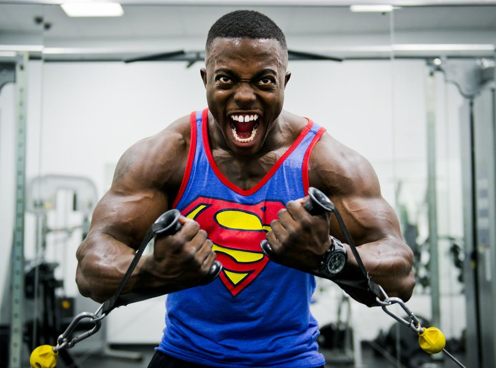 superman bodybuilder